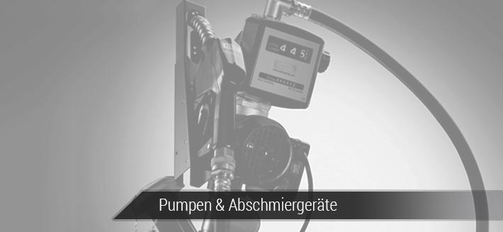 Pumpen & Abschmiergeräte