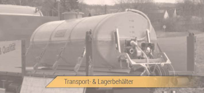 Lagertanks, Behälter, Boxen