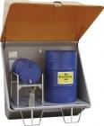 CEMO Schadstoff-Sammelstation mit Haube