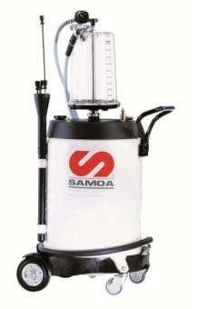 SAMOA Altölabsaugwagen mit Glasmesszylinder