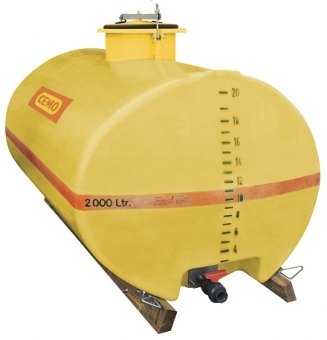 CEMO GFK-Fass oval 600 Liter