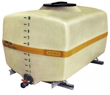 CEMO GFK-Fass kofferförmig T2
