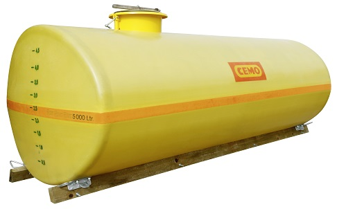 CEMO GFK-Fass oval