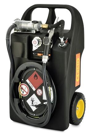 CEMO Kraftstofftrolley Ex0 60 Liter