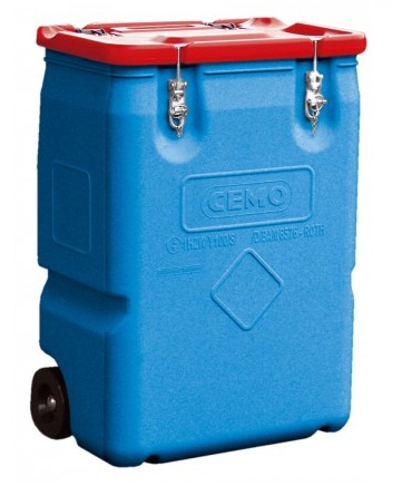 CEMO Mobil-Box mit Gefahrgut-Zulassung